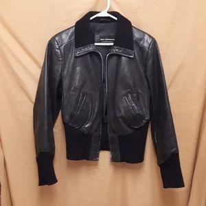 Retro-style Leather Jacket